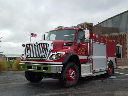 Hart Area Fire Department – October 2015