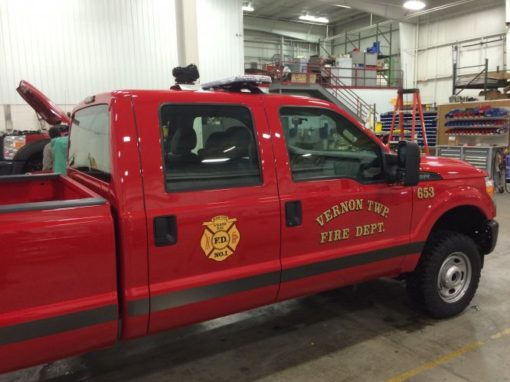 Vernon Township Fire Department- January 2015