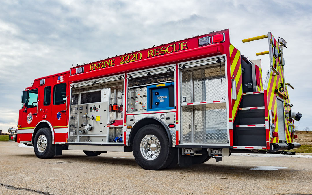 Fire Apparatus Magazine Featured Article- South Torch Lake