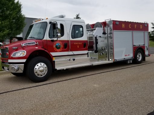 Harrison Community Fire Department, MI