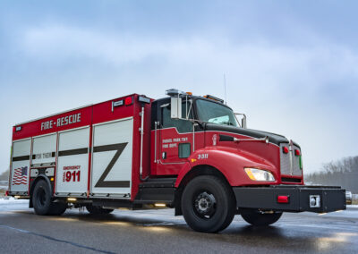 Fabius, Park Township Fire Department, MI